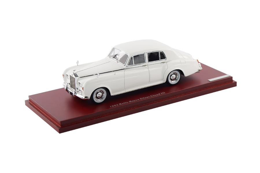 Rolls-Royce Silver Cloud III 1963 weiß TSM 1:43 TSM124370