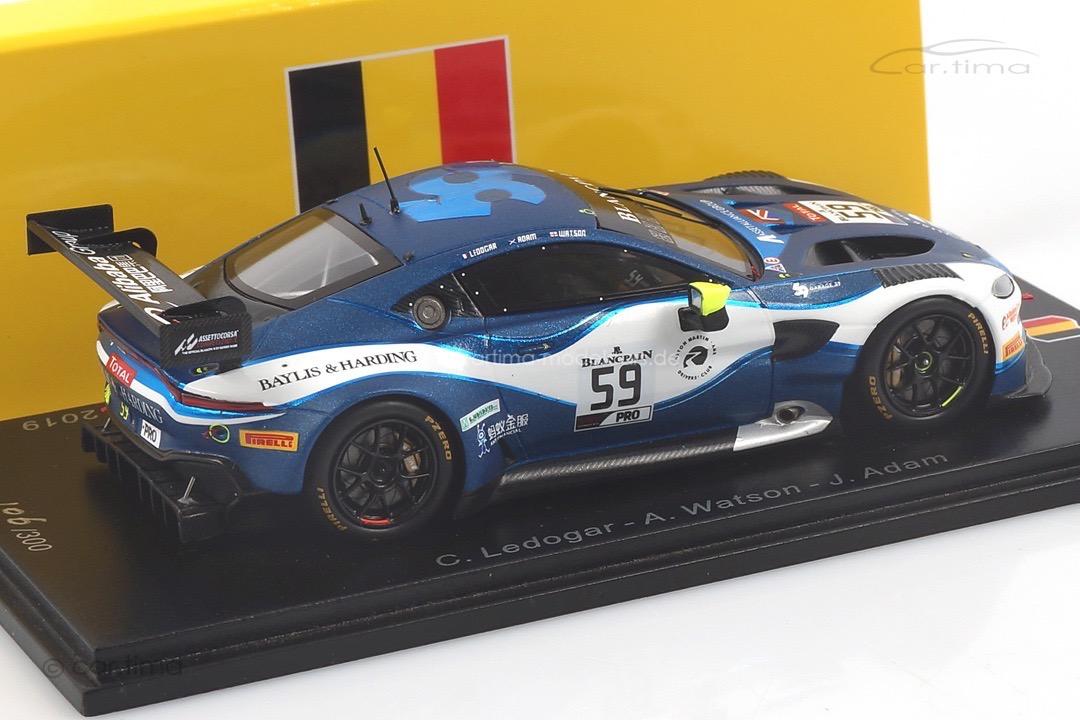 Aston Martin Vantage AMR GT3 24h Spa 2019 Adam/Ledogar/Watson Spark 1:43 SB281