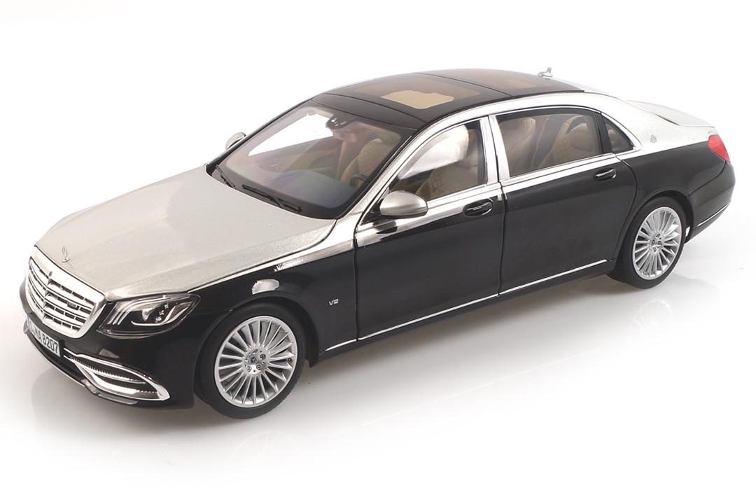 Mercedes-Maybach S650 2018 schwarz met./silber Norev 1:18 183427