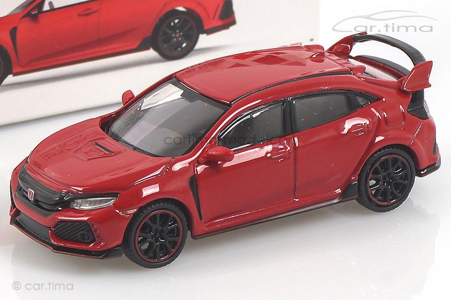 Honda Civic Type R (LHD) Rallye red MINI GT 1:64 MGT00012-L