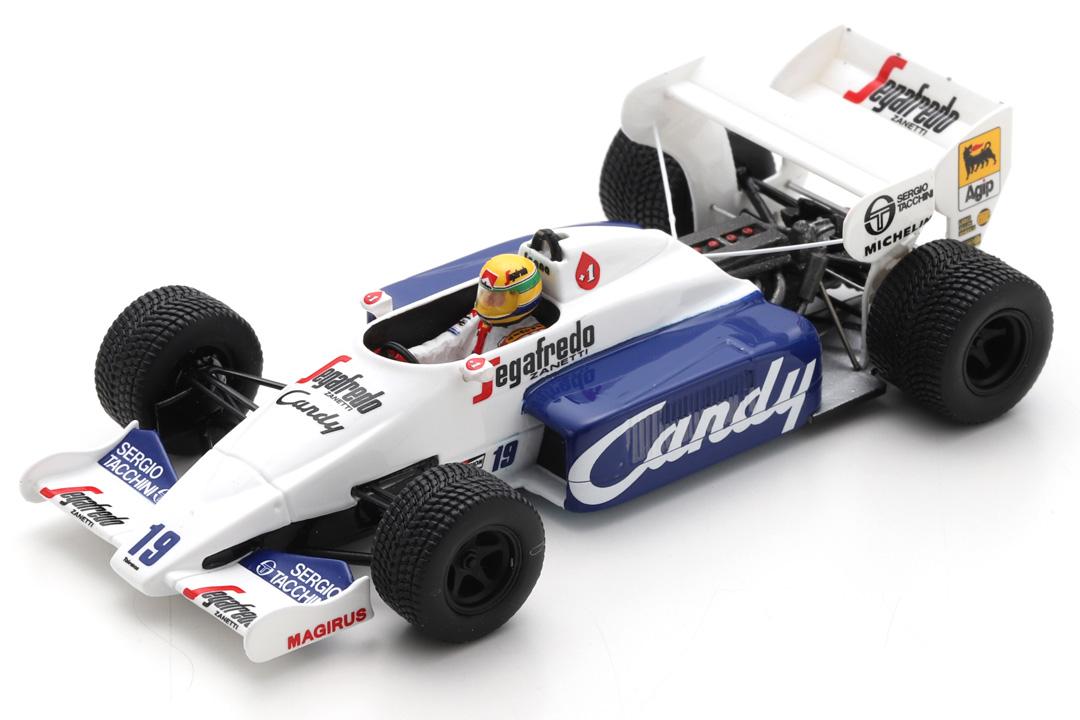 Toleman TG184 GP Monaco 1984 Ayrton Senna Spark 1:43 S2778