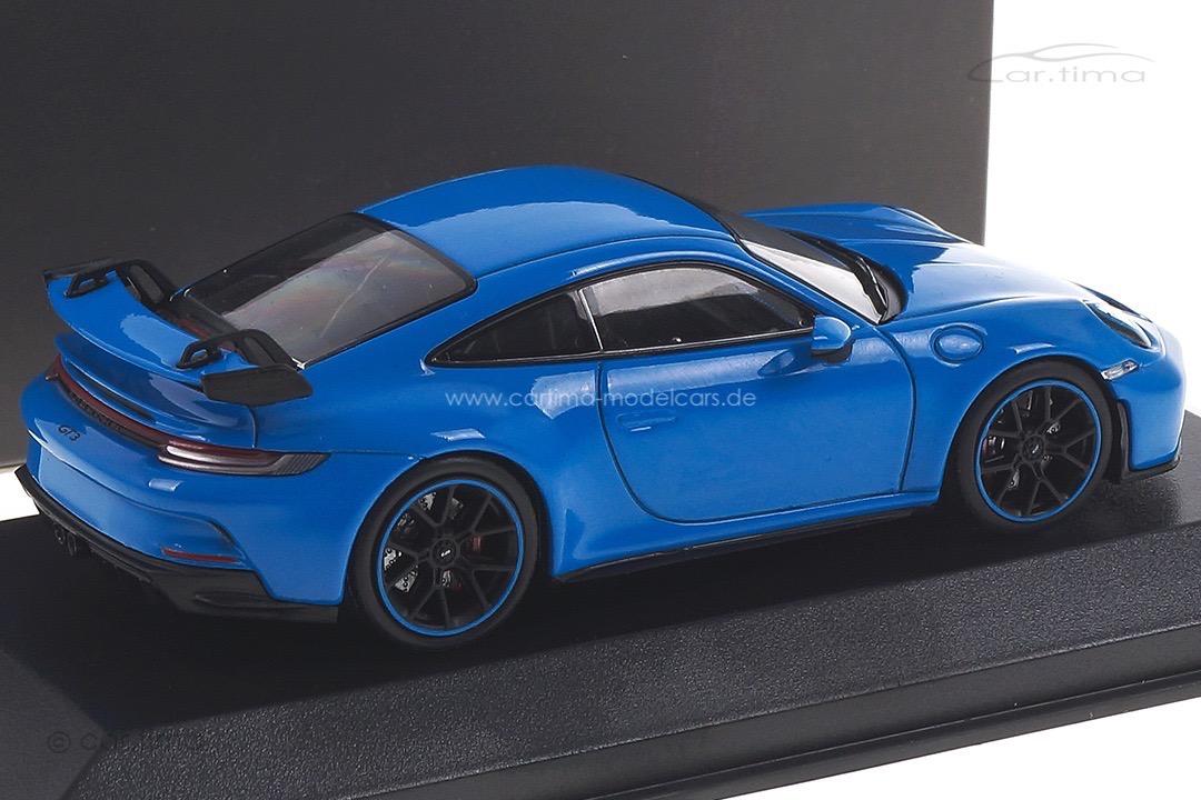 Porsche 911 (992) GT3 Sharkblue Minichamps 1:43 WAP0201490M005