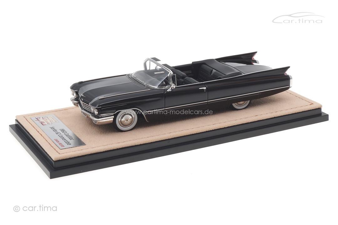 Cadillac Series 62 Convertible schwarz Stamp Models 1:43 STM60303