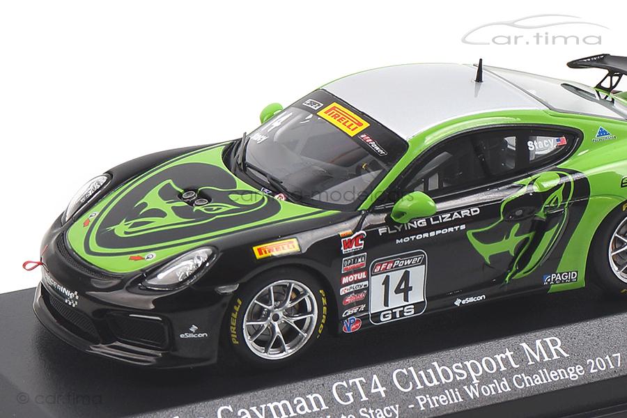 Porsche Cayman GT4 MR World Challenge 2017 Nate Stacy Minichamps 1:43 437171614