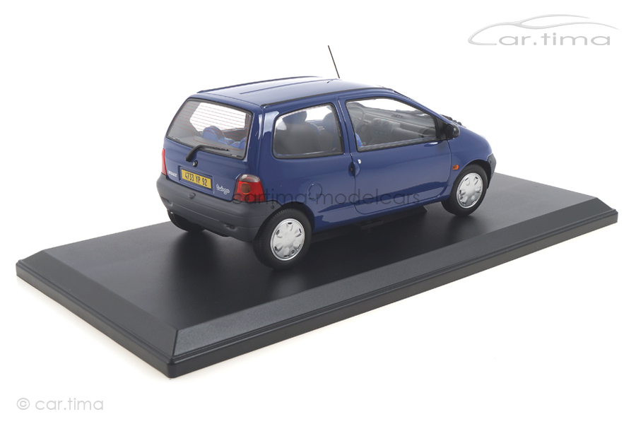 Renault Twingo 1993 Outremer Blue Norev 1:18 185291