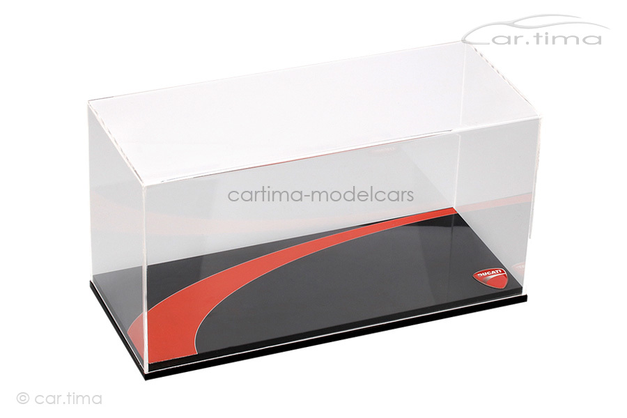 Vitrine/Display case Ducati schwarz 235x101x124 mm TSM 1:12 TSMAC0007