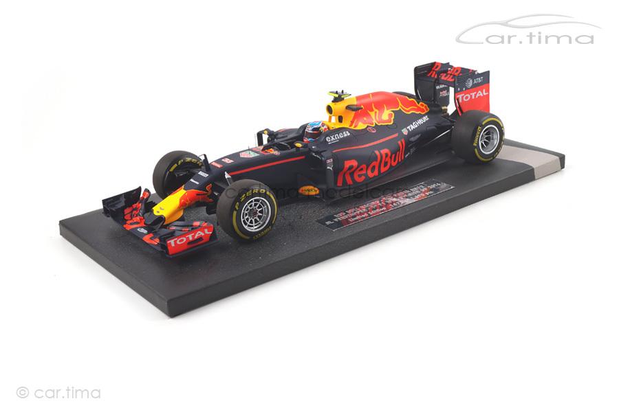 Red Bull Racing RB12 Winner Spanish GP 2016 Max Verstappen Minichamps 1:18 117160333
