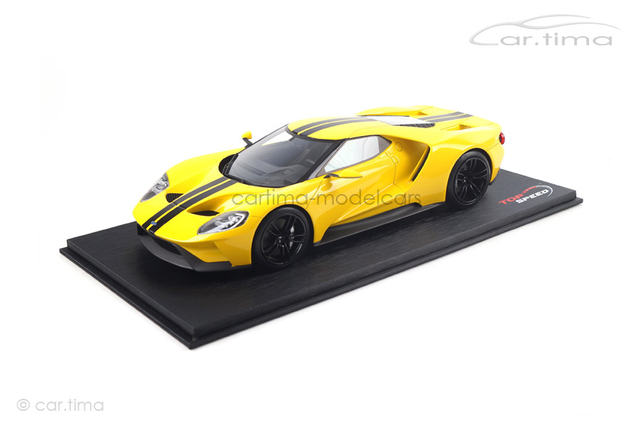 Ford GT Triple yellow TopSpeed 1:18 TS0029