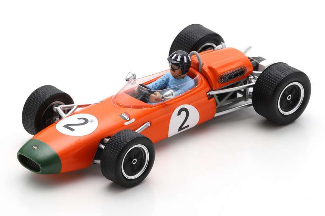 Brabham BT11A GP New Zealand 1965 Graham Hill Spark 1:43 S7432