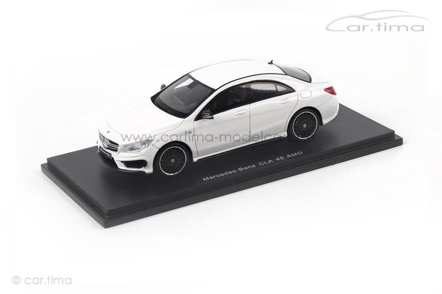 Mercedes-Benz CLA 45 AMG weiß Spark 1:43 S1076