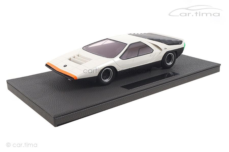 Alfa Romeo Carabo 1968 weiß Top Marques 1:18 TOP84B