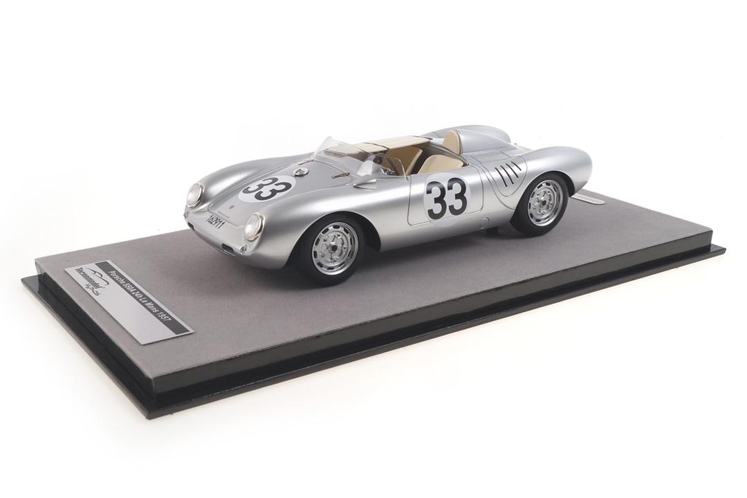 Porsche 550A RS 24h Le Mans 1957 Herrmann/von Frankenberg Tecnomodel 1:18 TM18-141C