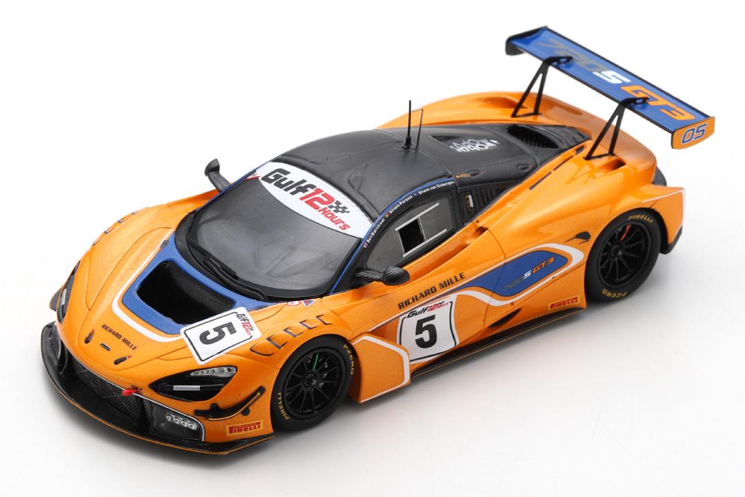 McLaren 720S GT3 12h Gulf 2018 Barnicoat/Parente/van Gisbergen Spark 1:43 S9200