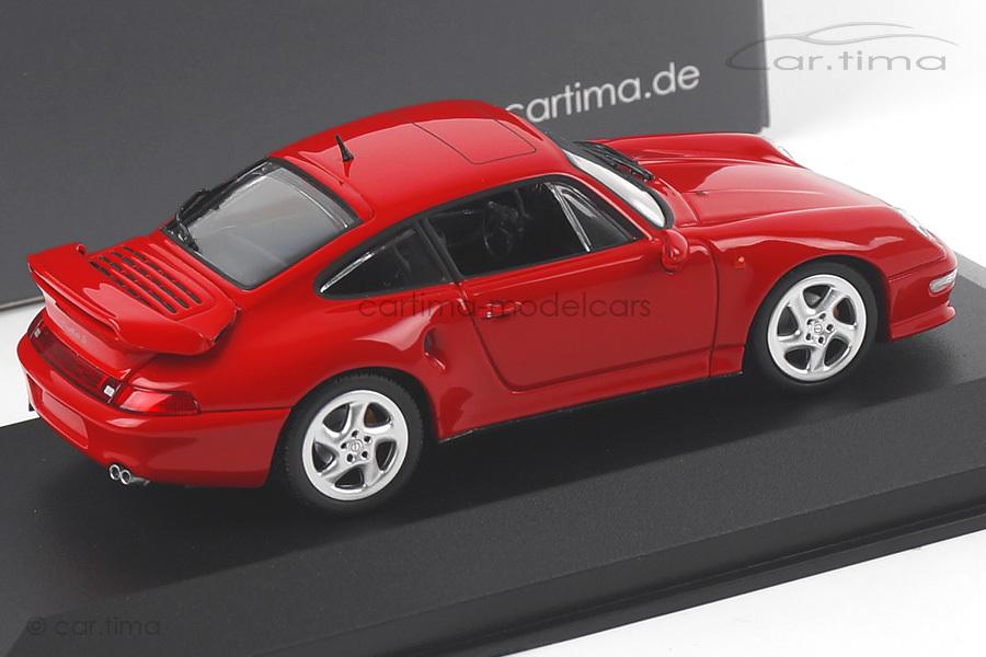 Porsche 911 (993) Turbo S Indischrot Minichamps car.tima EXCLUSIVE 1:43 CA04316001