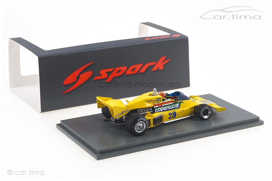 Copersucar FD04 GP Brasilien 1977 Ingo Hoffmann Spark 1:43 S3941