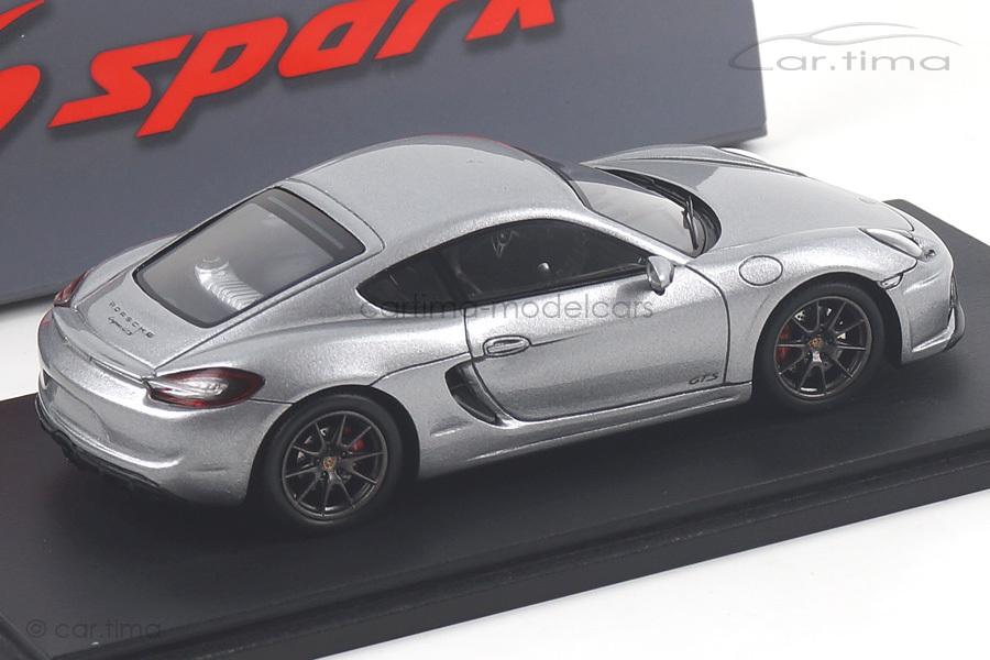Porsche Cayman (981) GTS GT-silber Spark 1:43 S4940