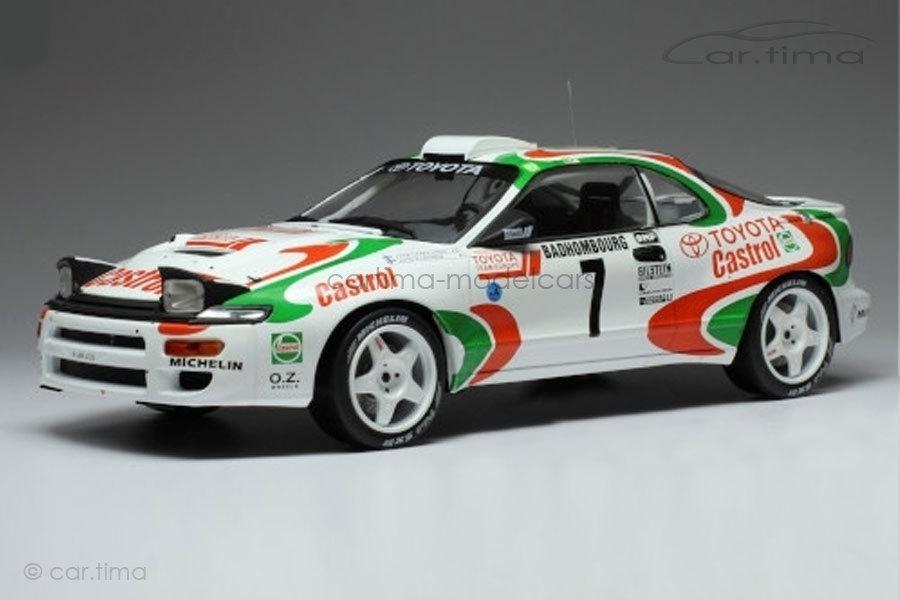 Toyota Celica ST185 Rallye Monte Carlo 1993 Kankkunen/Pironen IXO 1:18 18RMC041B
