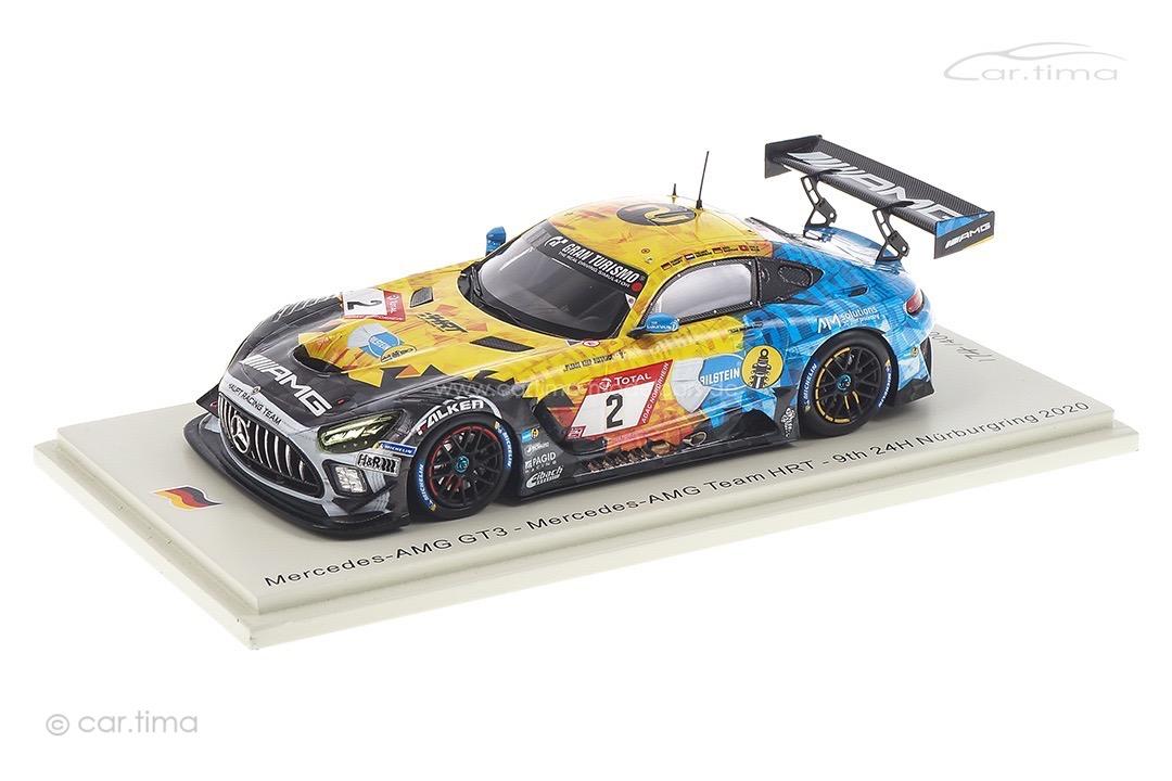 Mercedes-AMG GT3 24h Nürburgring 2020 Bastian/Buurman/Ellis/Haupt Spark 1:43 SG688