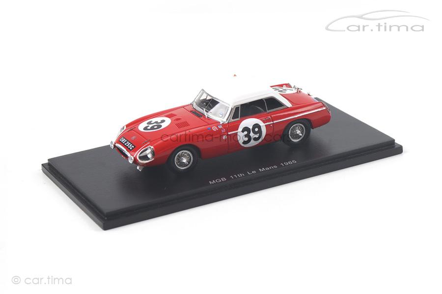 MGB 24h Le Mans 1965 Hopkirk/Hedges Spark 1:43 S5079