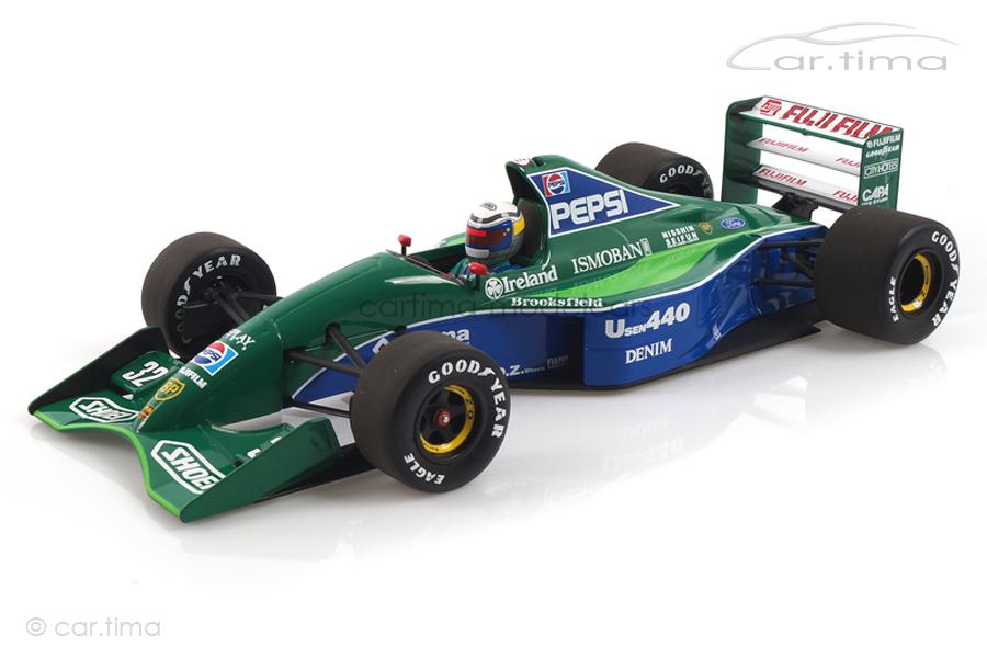 Jordan Ford 191 Japan GP 1991 Alessandro Zanardi Minichamps 1:18 110910332