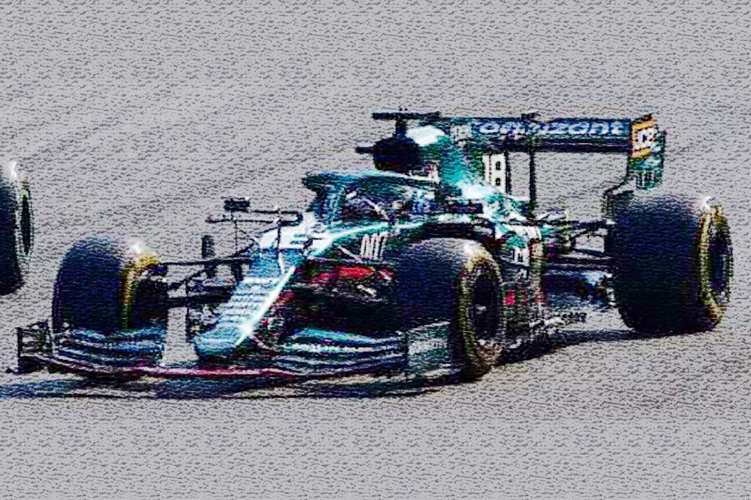 Aston Martin AMR21 GP Italien 2021 Lance Stroll Spark 1:43 S7693