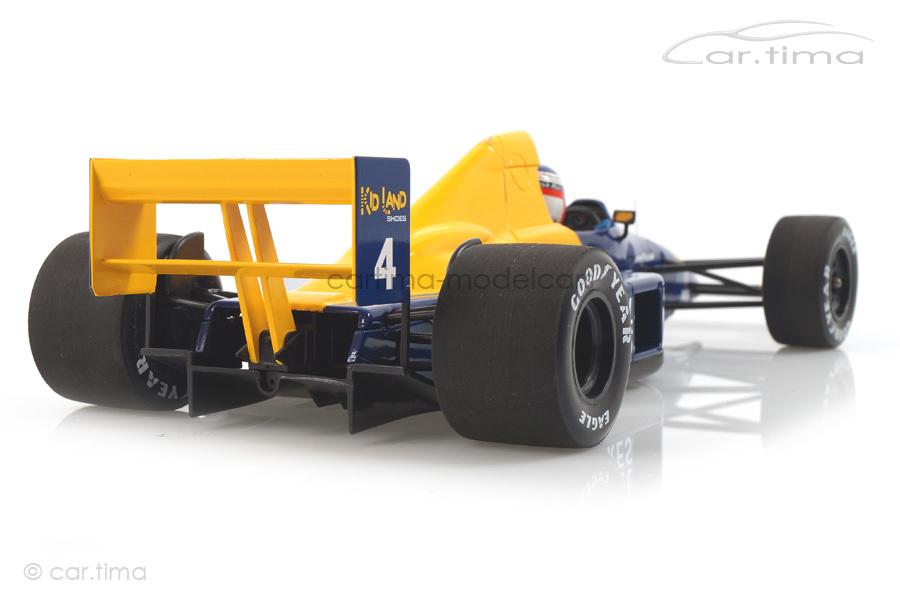 Tyrrell Ford 018 GP Frankreich 1989 Jean Alesi Minichamps 1:18 110890004