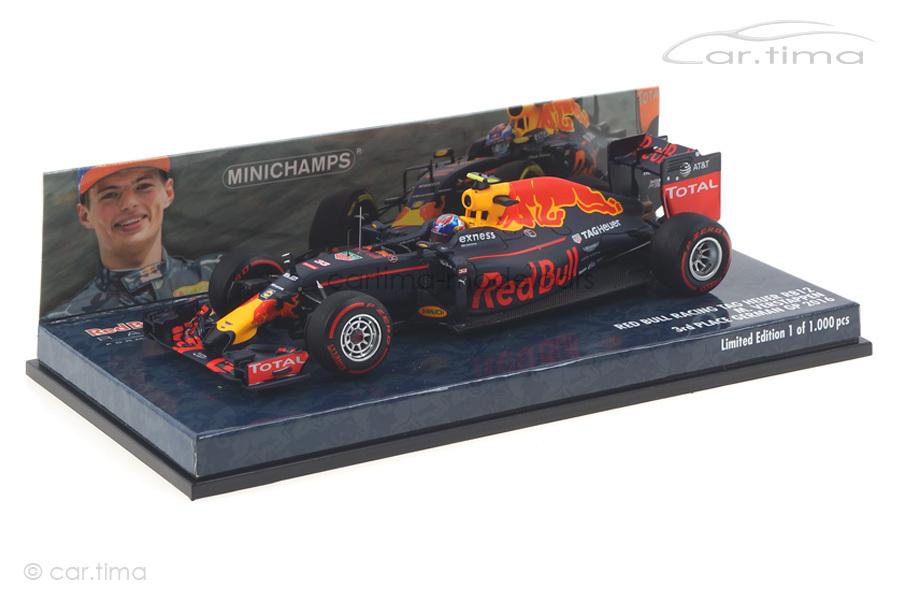 Red Bull RB12 German GP 2016 Verstappen Minichamps 1:43 417160833