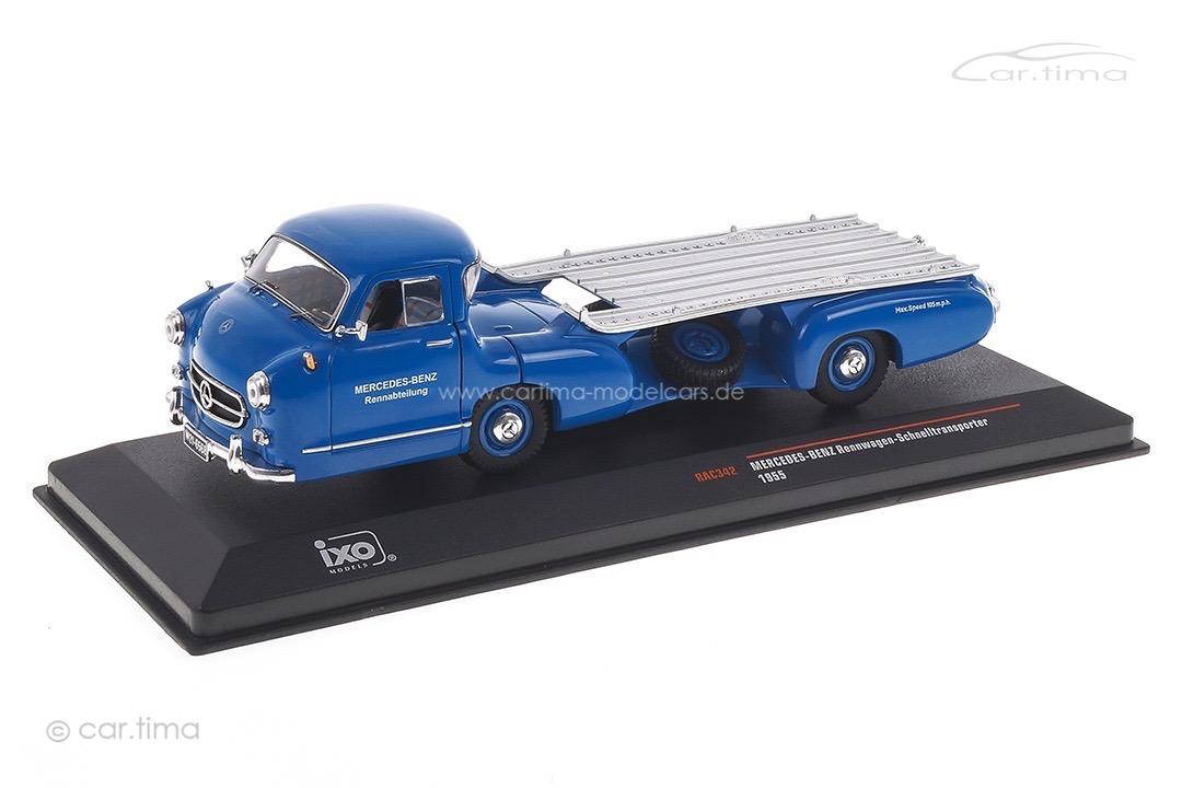 """Mercedes Renntransporter """"Blaues Wunder"""" 1955 IXO 1:43 RAC342"""
