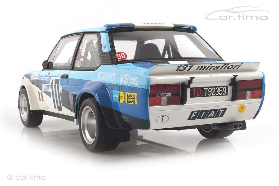 Fiat 131 Abarth Rallye Monte Carlo 1980 Röhrl/Geistdörfer OttOmobile 1:12 G051