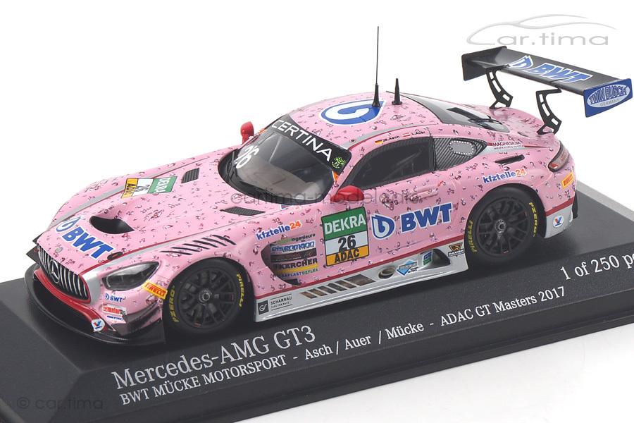 Mercedes-AMG GT3 ADAC GT Masters 2017 Asch/Auer Minichamps 1:43 437173026