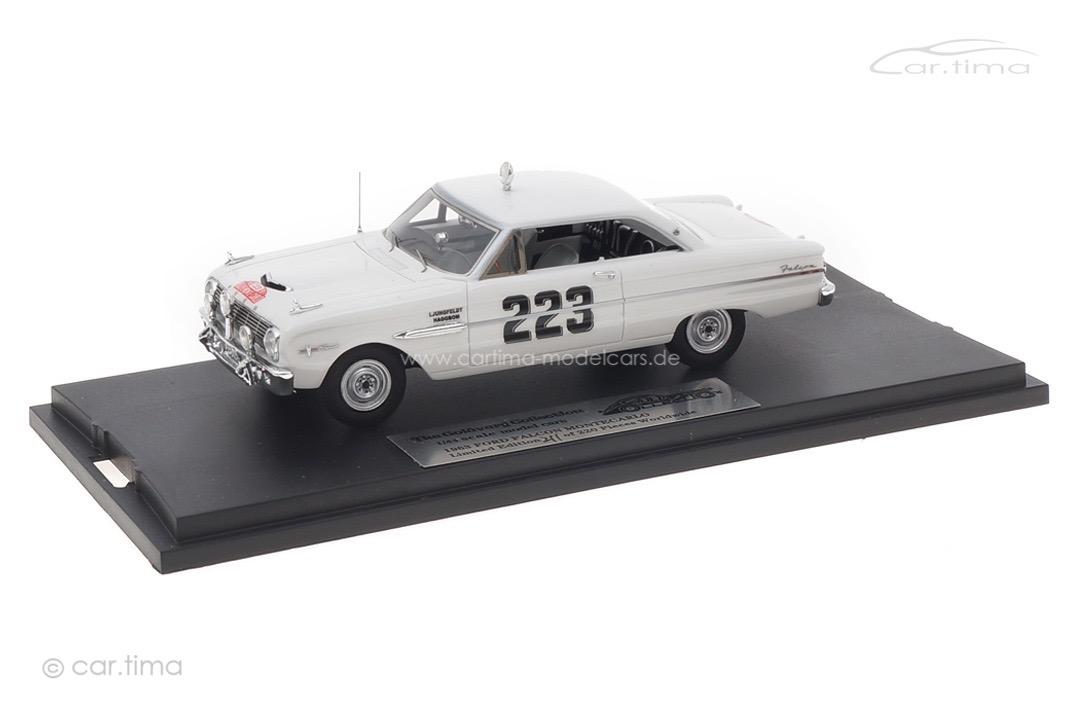 Ford Falcon Futura Rallye Monte Carlo 1963 Ljungfeldt/Sager Goldvarg 1:43 GC-032