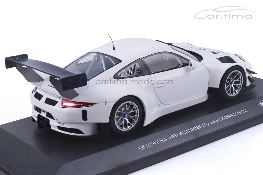 Porsche 911 (991) GT3 R Plain Body Version weiß Minichamps 1:18 153166000