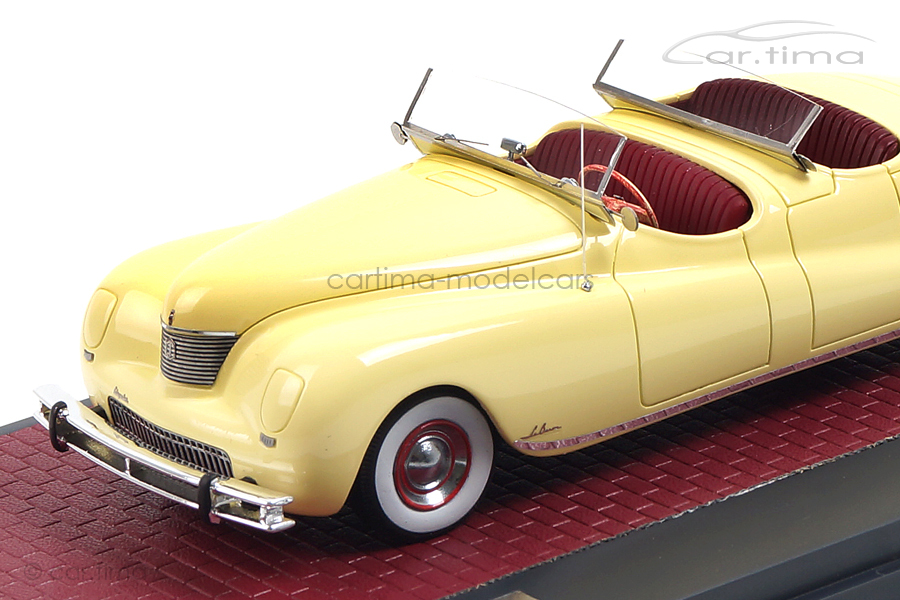 Chrysler Newport Dual Cowl Pheaton LeBaron 1941 cream Matrix 1:43 MX20303-021