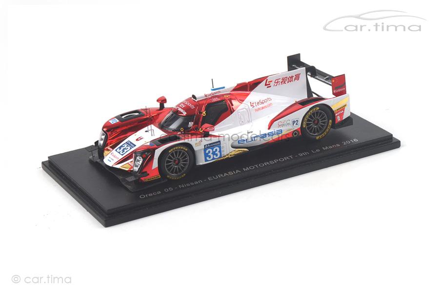 Oreca 05-Nissan 24h Le Mans 2016 De Bruijn/Gommendy/Junjin Spark 1:43 S5116