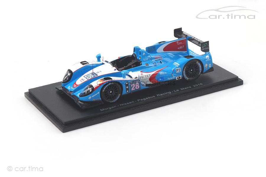 Morgan-Nissan 24h Le Mans 2016 Roussel/Striebig/Taittinger Spark 1:43 S5113