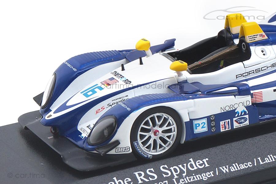 Porsche RS Spyder ALMS Utah GP 2007 Lamy/Wallace Minichamps 1:43 400076616