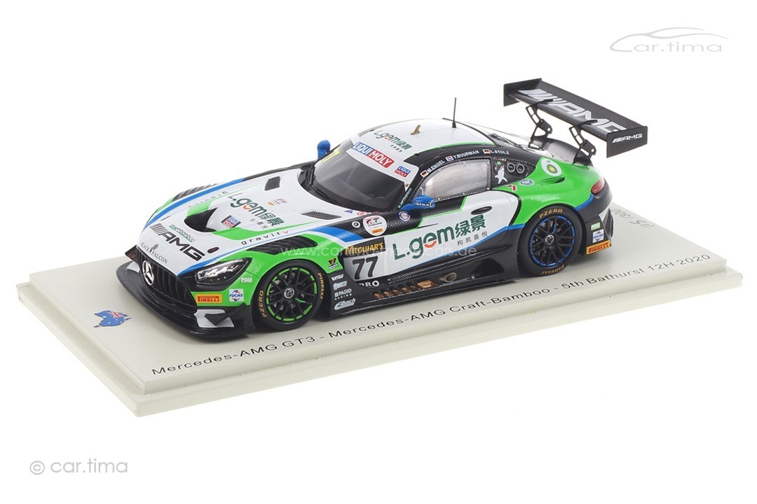 Mercedes-AMG GT3 12h Bathurst 2020 Buurman/Engel/Stolz Spark 1:43 AS052