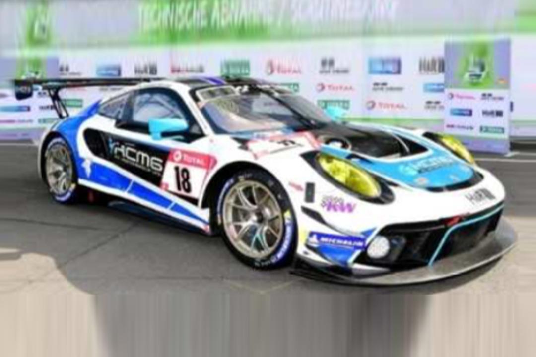 Porsche 911 GT3 R 24h Nürburgring 2020 Bamber/Bergmeister/Bernhard/Olsen Spark 1:43 SG692