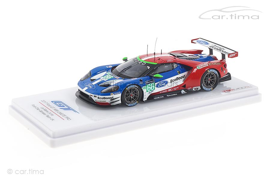 Ford GT 24h Le Mans 2017 Johnson/Mücke/Pla TSM 1:43 TSM430286
