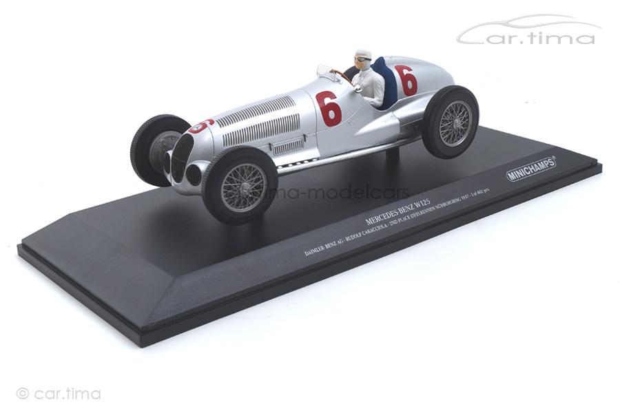 Mercedes-Benz W125 2nd place Nürburgring 1937 Rudolf Caracciola Minichamps 1:18 155373106