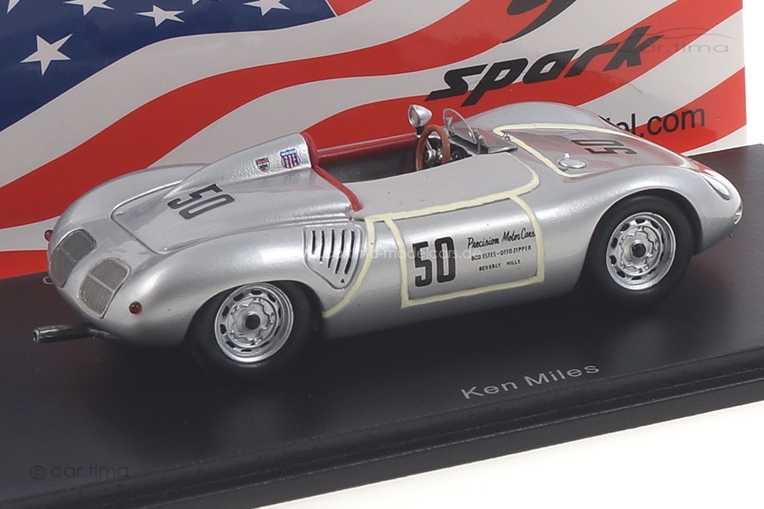 Porsche 718 RS60 Riverside SCCA 1960 Ken Miles Spark 1:43 US113
