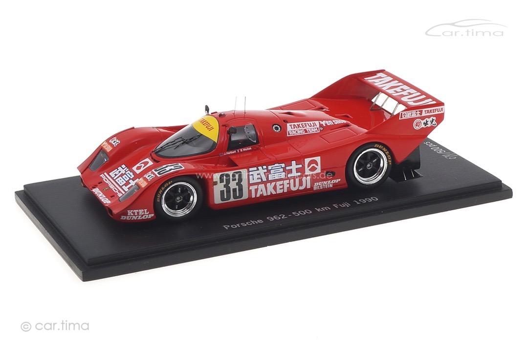 Porsche 962 500 km Fuji 1990 Herbert/Wollek Spark car.tima EXCLUSIVE 1:43 CA-WOL-11