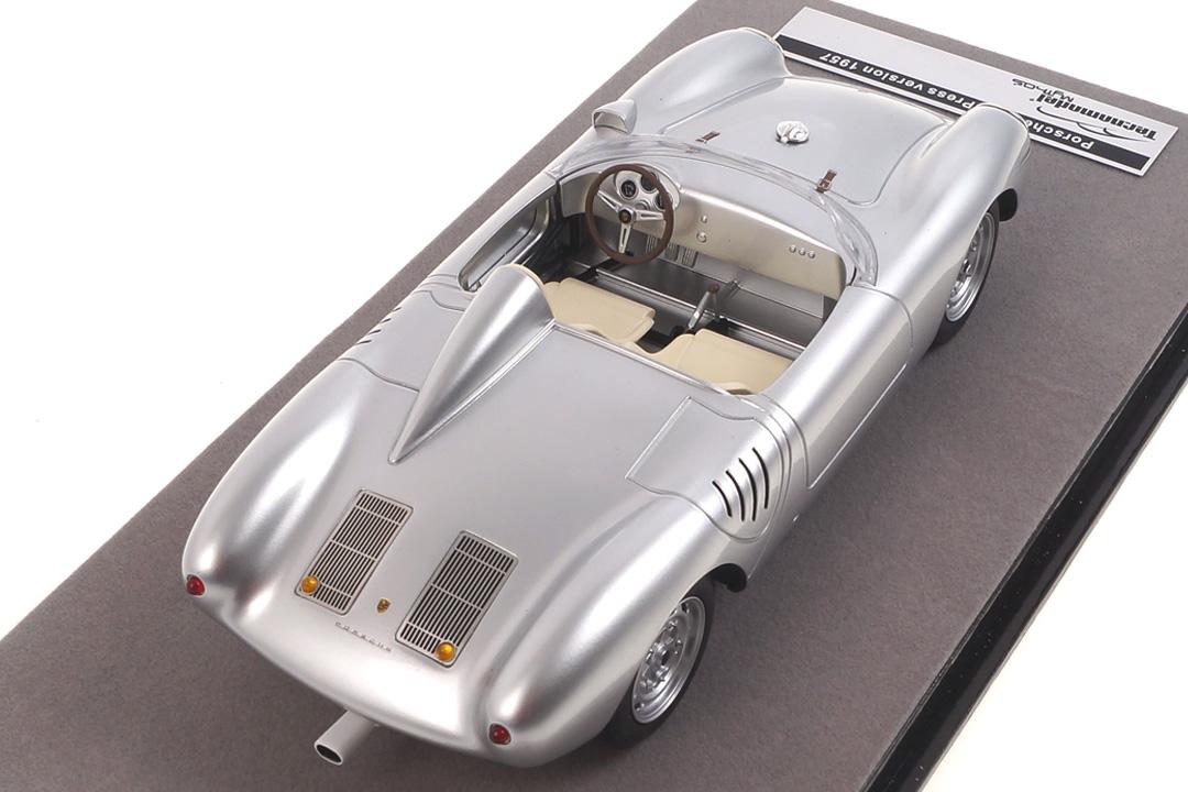 Porsche 550A RS silber Tecnomodel 1:18 TM18-141D
