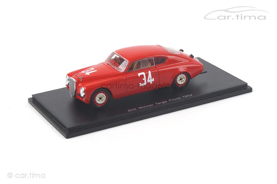 Lancia B20 Winner Targa Florio 1952 Bonetto Spark 1:43 43TF52