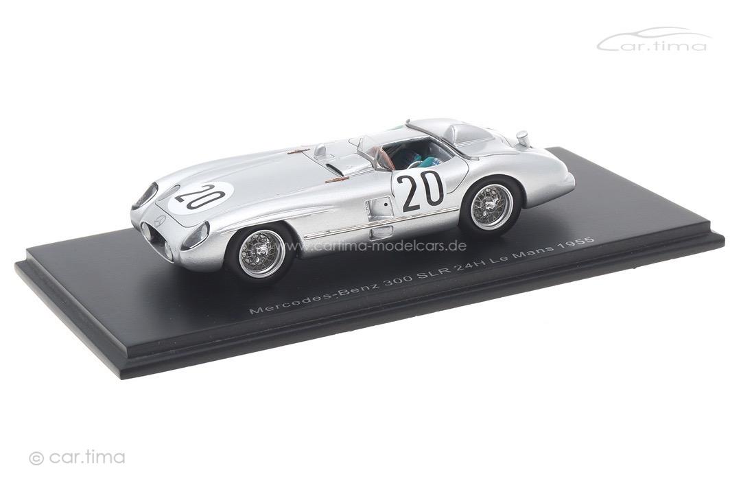 Mercedes-Benz 300 SLR 24h Le Mans 1955 Levegh/Fitch Spark 1:43 S4734