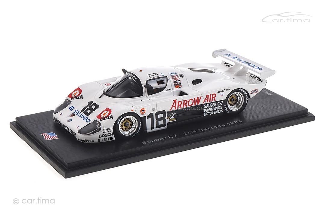 "Sauber C7 24h Daytona 1984 ""Fomfor""/Naon/Montoya/Valiente Spark 1:43 US139"