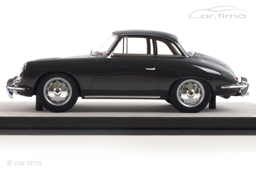 Porsche 356 Karmann Hardtop grau Tecnomodel 1:18 TM18-143A