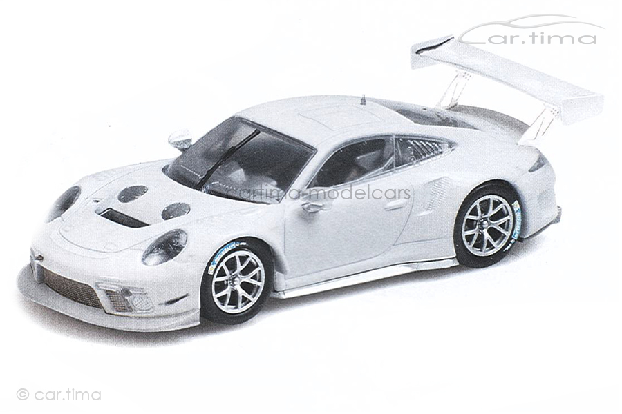 Porsche 911 GT3 R 2020 weiß Minichamps 1:43 410196000