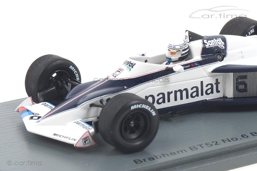 Brabham BT52 GP Brasilien 1983 Riccardo Patrese Spark 1:43 S7105