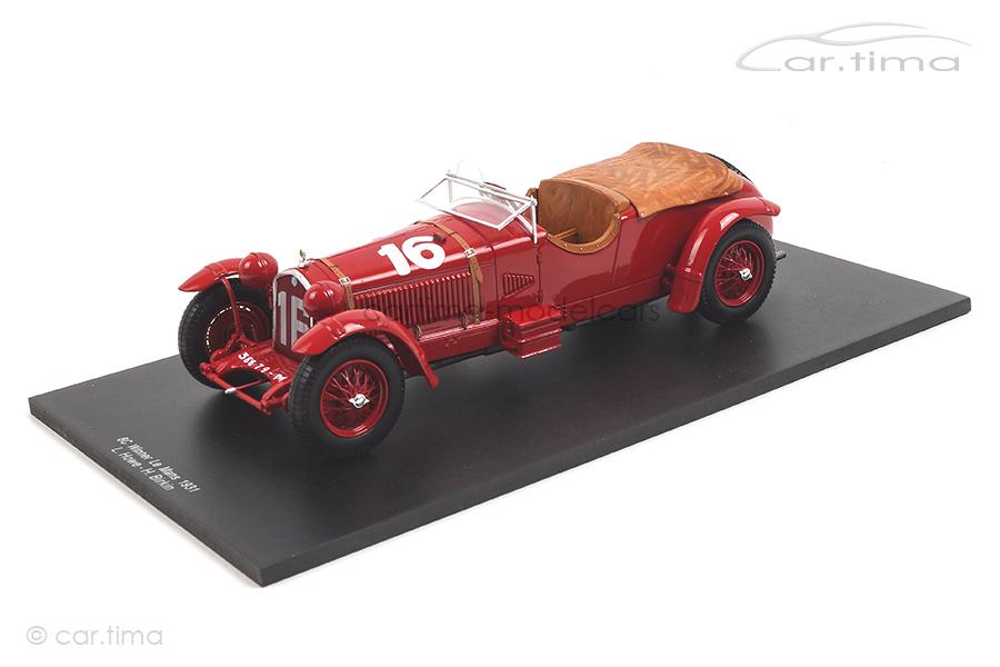 Alfa Romeo 8C Winner 24h Le Mans 1931 Birkin/Howe Spark 1:18 18LM31